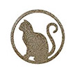 Occasions Metal Wall Art Sign - Cat Motif