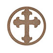 Occasions Metal Wall Art Sign - Cross Motif