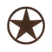 Occasions Metal Wall Art Sign - Star Motif