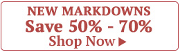New Markdowns Save 50% - 70%