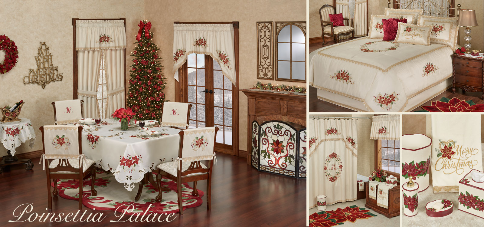 Poinsettia Palace Holiday Collection
