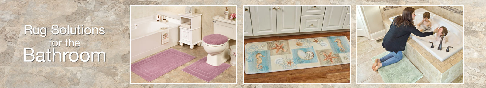 Rugs and Mats for the Bathroom