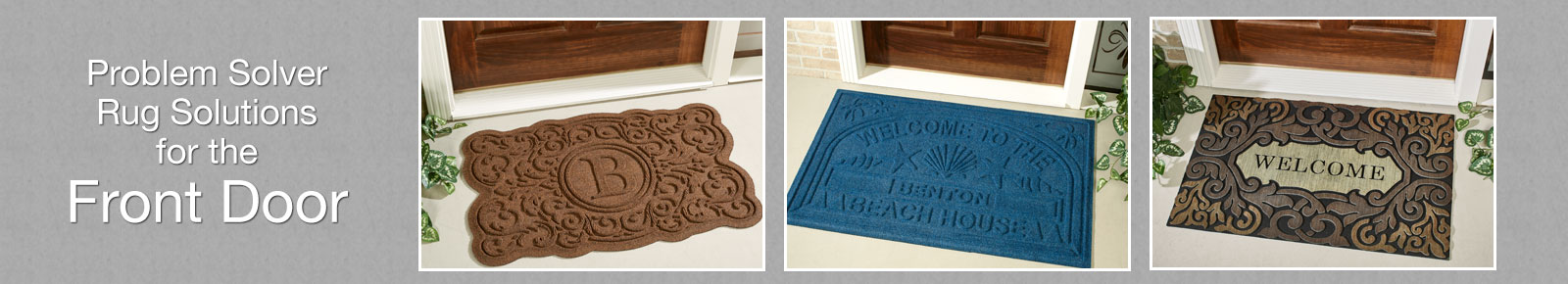 Mats for the Front Door and Porch
