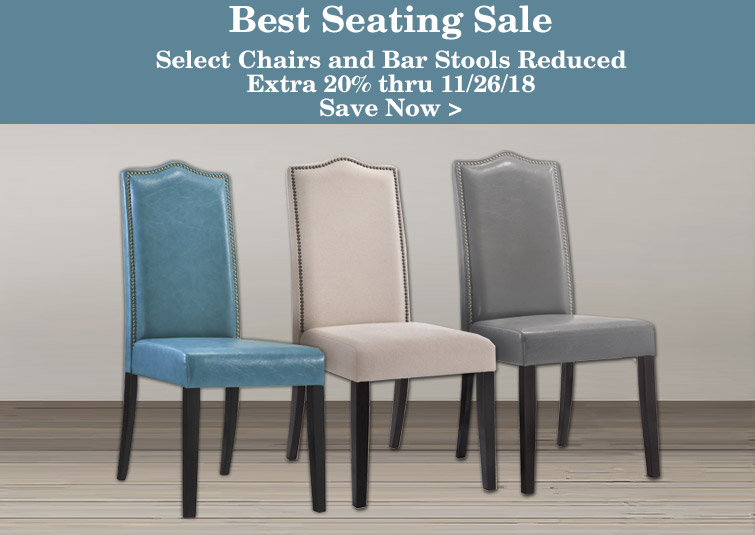 Best Seating Sale - Select Seating reduced an extra 20%
