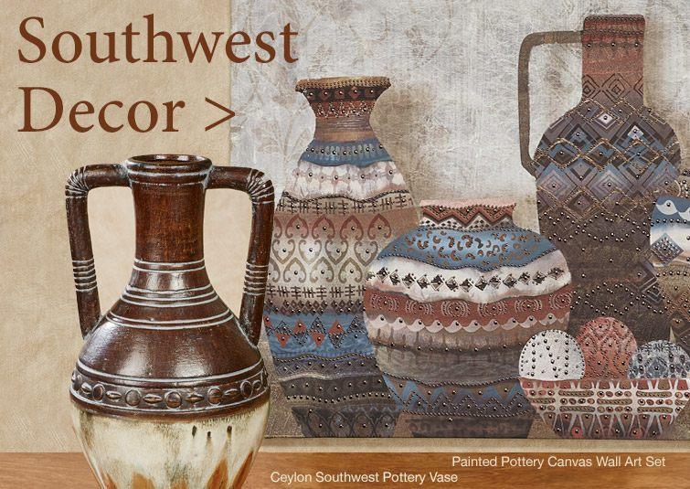 Shop our large selection of unique Southwest-themed home accents