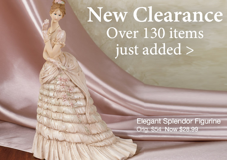 Over 100 items just added to Clearance