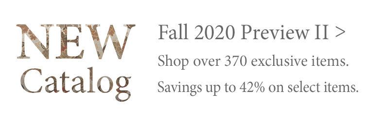 Shop our latest Fall Preview Catalog