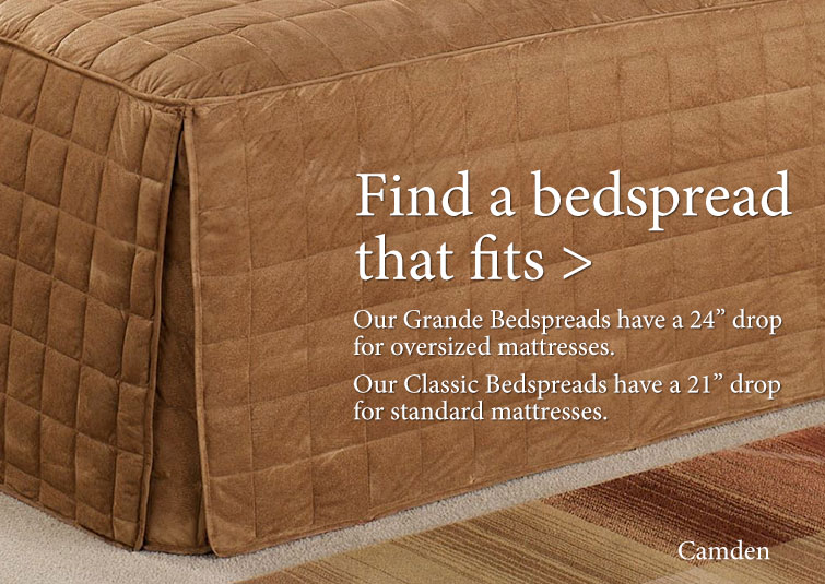 Find a Bedspread that fits