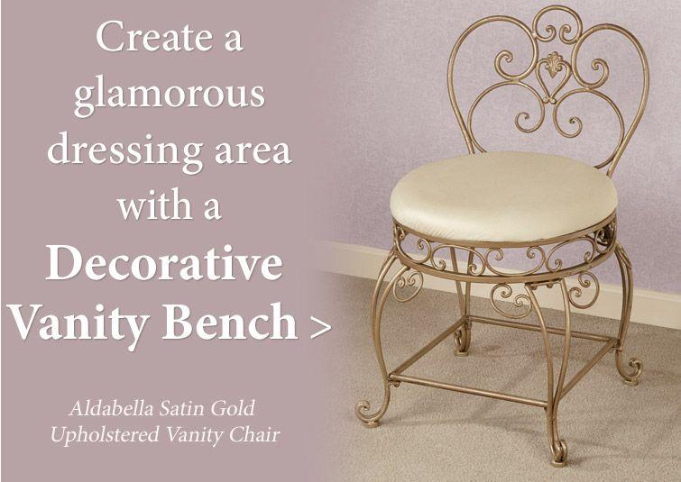 Decorative Vanity Chairs