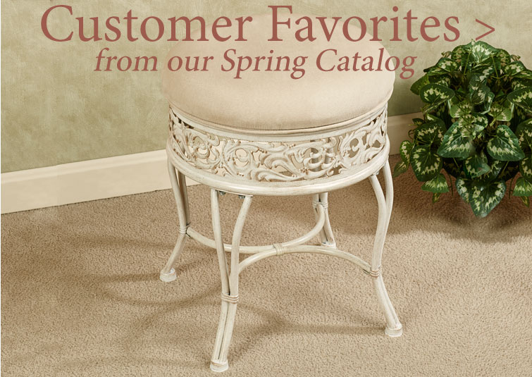 Customer Favorites from our Spring Catalog