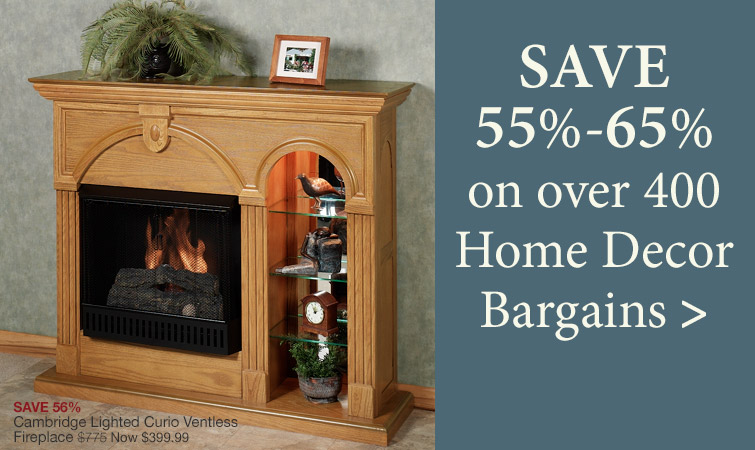 Save 55%-65% on over 400 Home Bargains