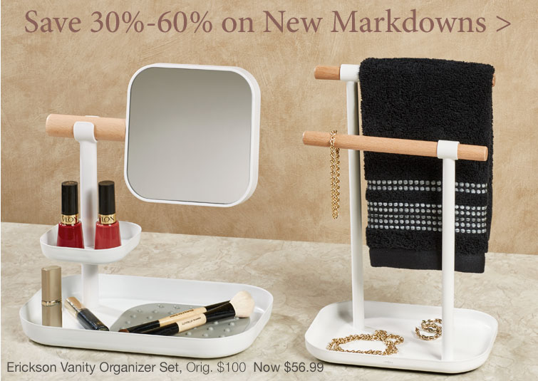 Save 30%-60% on over 200 New Markdowns