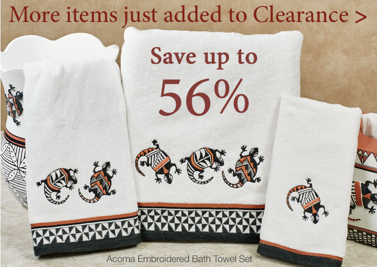 More New Items Just Added To Clearance!