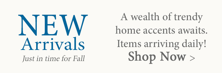 New Arrivals just in time for Fall