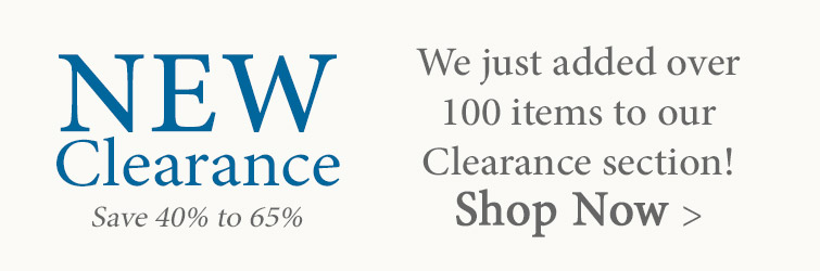Shop new items added to Clearance