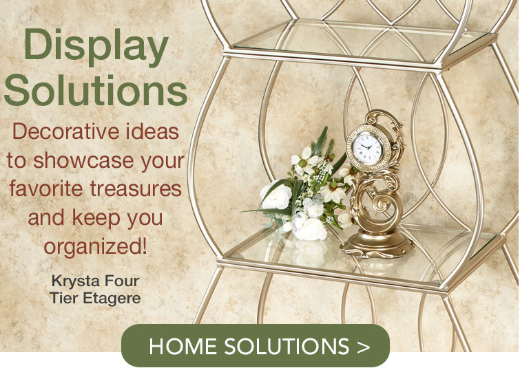 Display Solutions to organize your treasured collections
