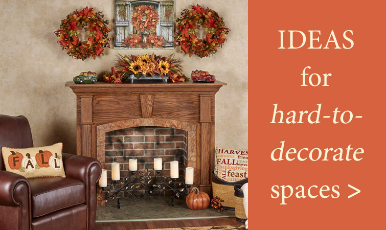Ideas for hard-to-decorate spaces
