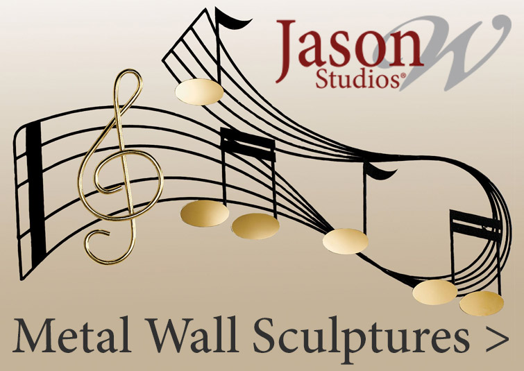 Exquisite Metal Wall Sculptures designed by JasonW Studios