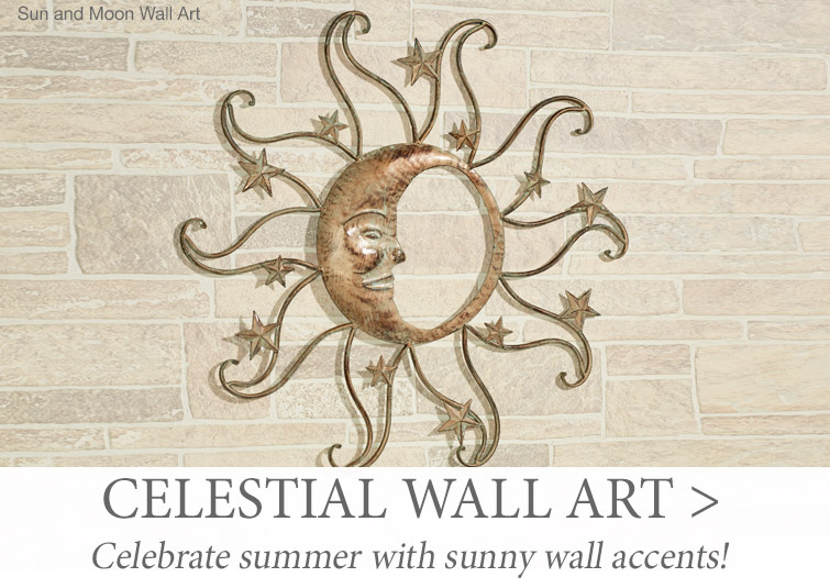 Celebrate summer with sun-themed wall decor >