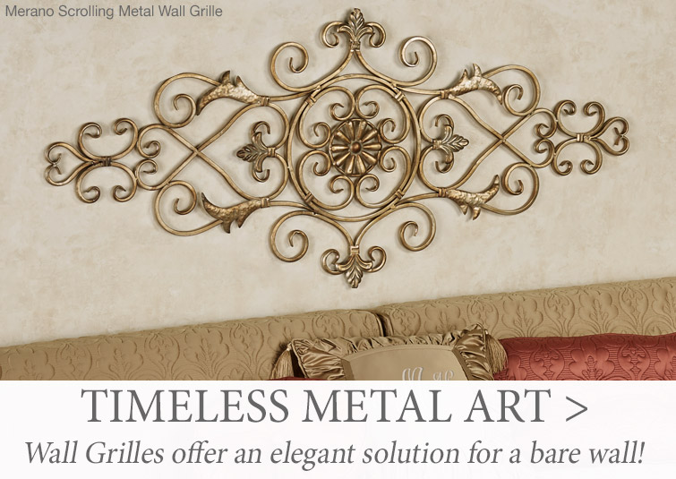 Wall Grilles offer an elegant solution for bare walls.