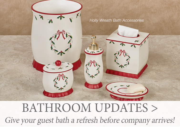 Give your bathrooms a refresh before guests arrive >