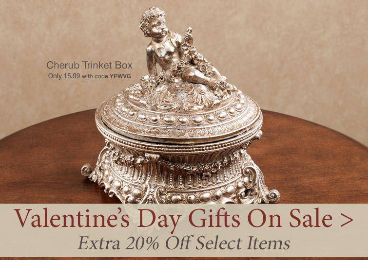 Extra 20% Off Select Valentine's Day Gifts thru 1/27/20