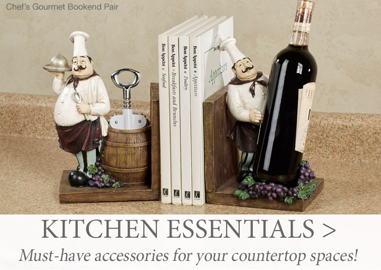 Must have kitchen essentials for your countertop spaces >