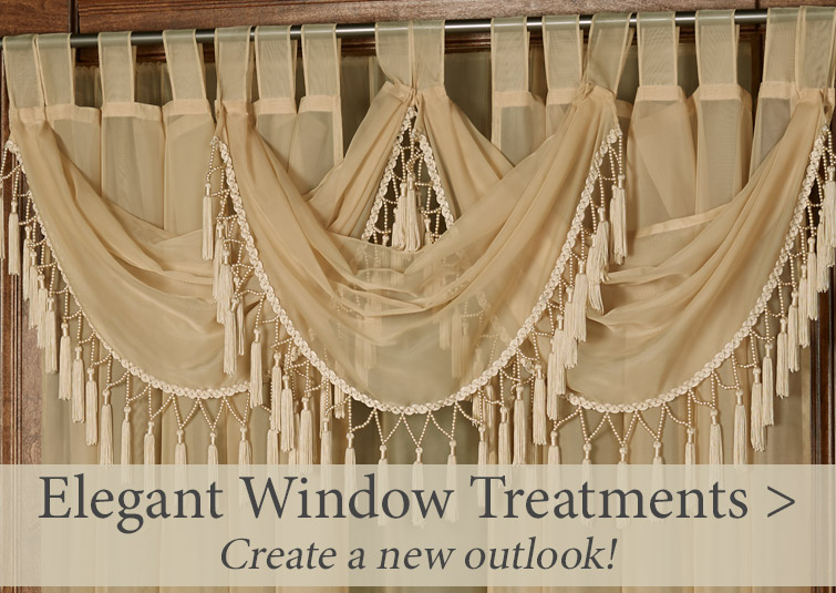 Create a new outlook with our elegant window treatments