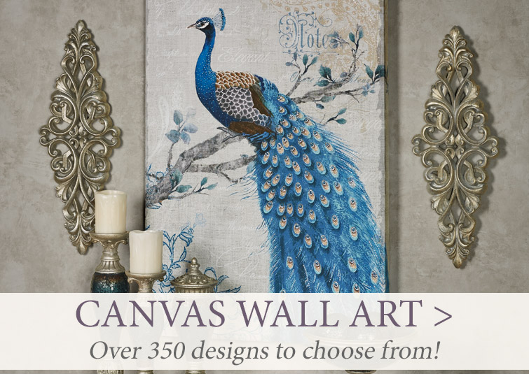 Over 350 Canvas works of art for your walls!