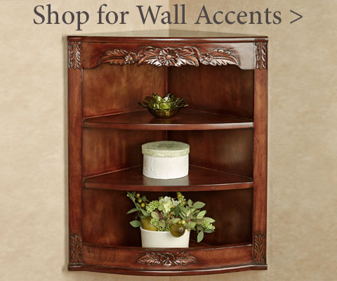 Shop for Wall Accents - Mirrors, Sconces, Wreaths, Clocks, Plaques, and more