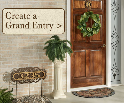 Create A Grand Entryway