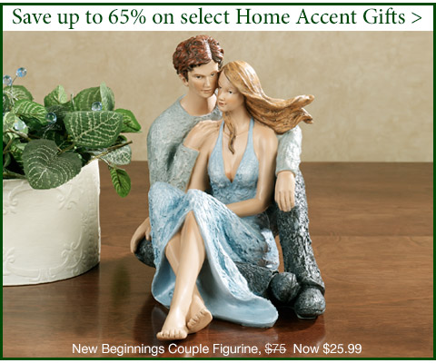 Save 55%-65% on Home Accent Gifts