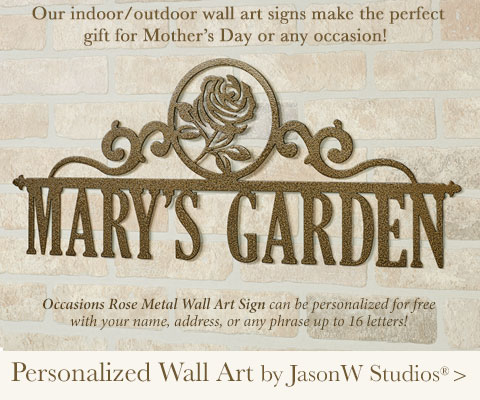 Personalized Wall Art Signs by jasonW Studios