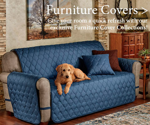 Give your room a quick refresh with our Furniture Covers