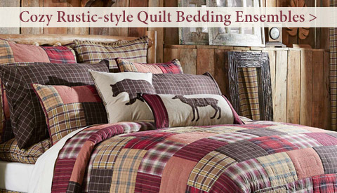 Cozy Rustic-themed Quilts for Fall