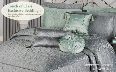 Shop our exclusive bedding designs including Cambridge Classics