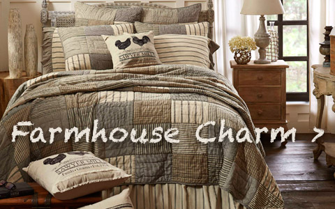 Add a little Farmhouse Charm to every room in your home