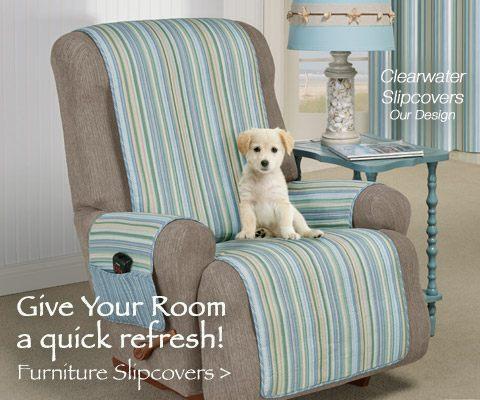 Quick Livingroom Update: Furniture Slipcovers