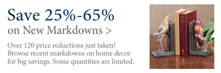 Save 25%-65% on over 120 new markdowns