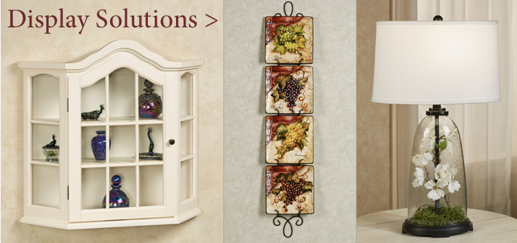 Display Solutions to organize your treasured collections!