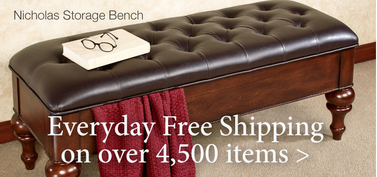 Over 4,500 Items Ship For Free Every Day