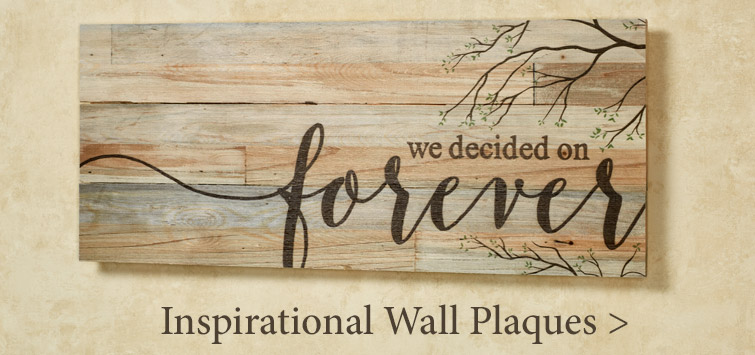 Inspirational Wall Plaque Gifts