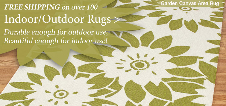 Free Shipping on select Quality Indoor Outdoor Area Rugs
