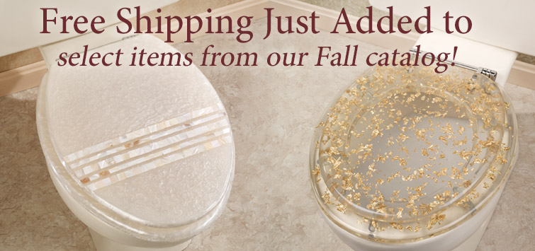 Free Shipping Just Added to select items from our Fall Catalog!