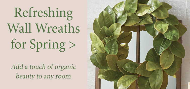 Liven up a room or door with a Spring-themed Wall Wreath