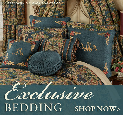 Exclusive Touch of Class bedding that you won't find anywhere else! Shop Now >