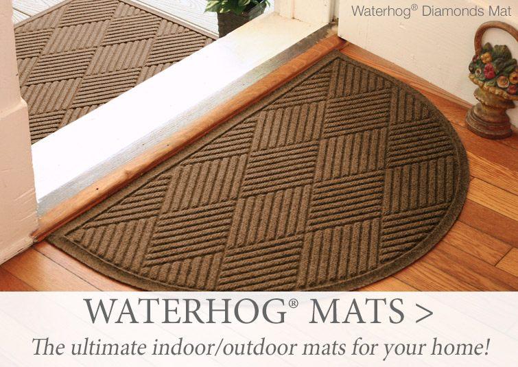WaterHog - the ultimate indoor/outdoor mats