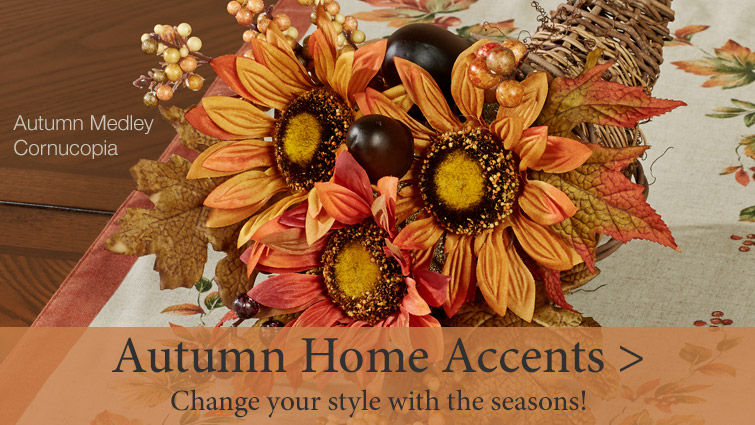 Autumn Home Accents