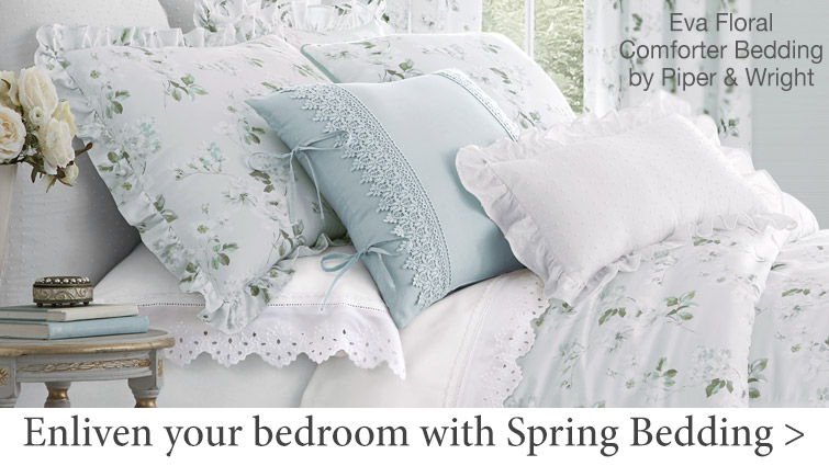 Enliven your bedroom with Spring Bedding