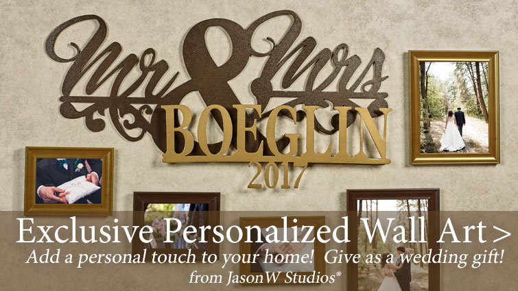 Personalized Wall Art from JasonW Studios